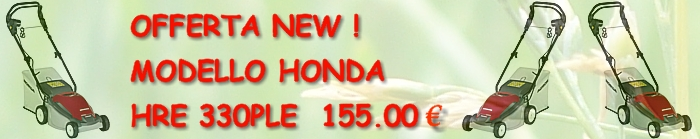 Banner Honda HRE330PLE