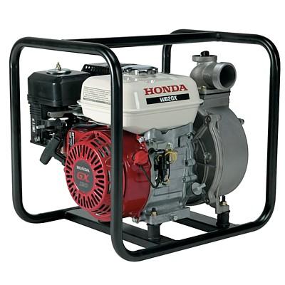 Motopompa WB Honda da 600 litri al minuto, ideale per orti e irrigazione a lunga distanza.