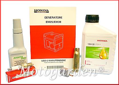 Promozione Motogarden per Honda EM30, accessori ed omaggi inclusi.