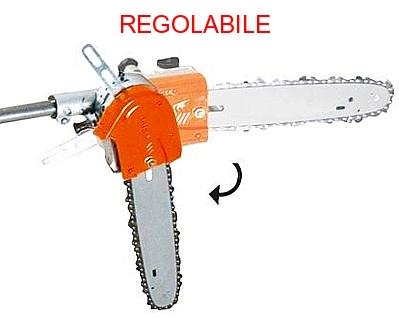 Potatore pruner AMA con sistema di barra regolabile.