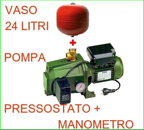 Configurazione in autoclave, elettropompa DAB.