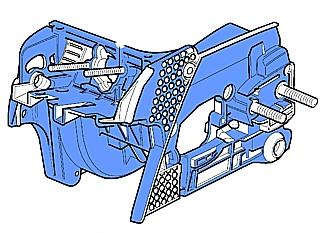 Basamento Hi-Tech di Oleo Mac GS370.