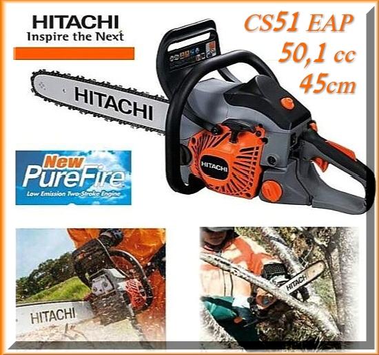 Motosega professionale Hitachi CS51 EAP.