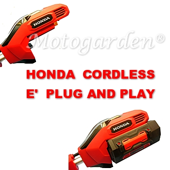 Honda Cordless è PLUG AND PLAY.