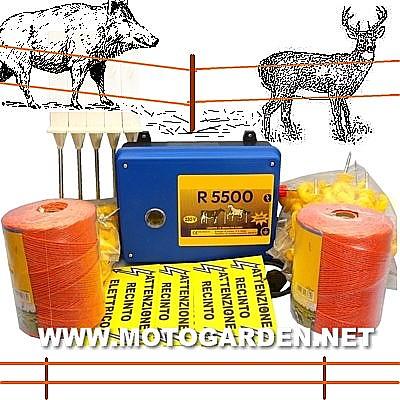 Kit recenzione elettrica per cinghiali e cervi for Recinzione elettrica per capre