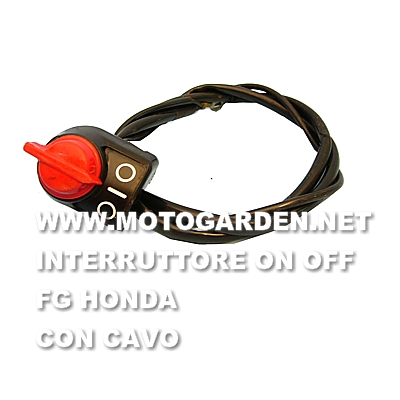 Interruttore usato ON OFF per motozappe FG