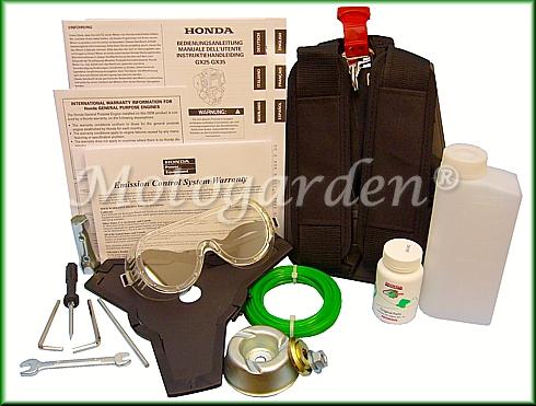 Omaggi ed accessori per decespugliatore GX35 HONDA inclusi nella promozione Motogarden.