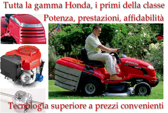 Trattorini Honda Power, offerta speciale in sede, imperdibile.