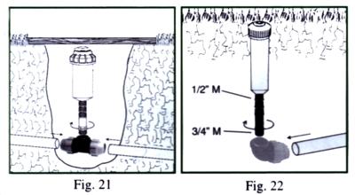 Progetto irrigazione interramento delle tubazioni e for Progetto irrigazione
