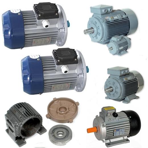 Motori elettrici di ricambio, divisi per potenza e fascia di prezzo, utili per ripristinare e riparare attrezzature meccaniche industriali, agricole e meccaniche in ogni settore.