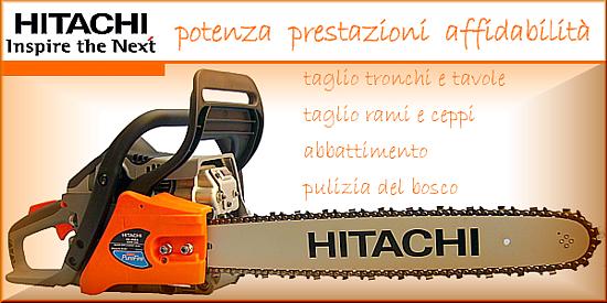Preastazioni ed affidabilità per questa motosega Hitachi CS51, ottima per taglio di legna di qualsiasi genere.