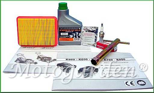 Omaggi ed accessori per rasaerba con motore oleoMac, una promozione di Motogarden fino esaurimento scorte di magazzino