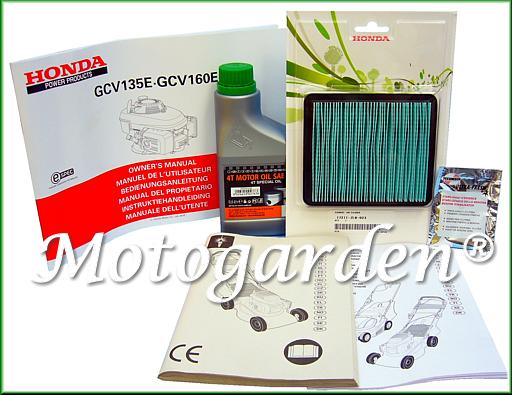 Omaggi ed accessori per rasaerba con motore Honda Spartan, una promozione di Motogarden fino esaurimento scorte di magazzino